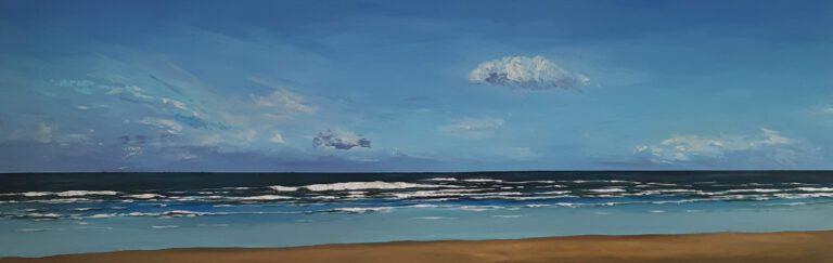 schilderij van een zeegezicht
