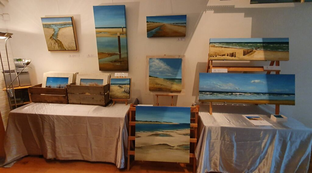 """""""WINTERTIJD"""" expositie galerie Elly Bakker Bergen"""